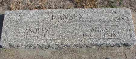 HANSEN, ANNA - Yankton County, South Dakota | ANNA HANSEN - South Dakota Gravestone Photos