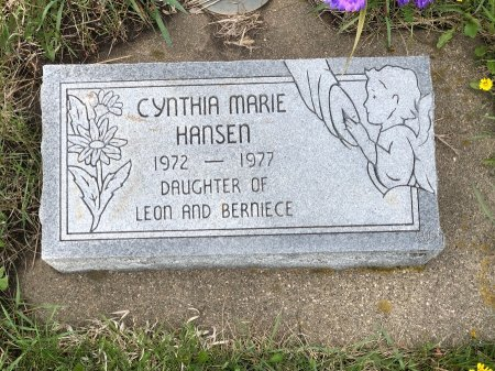 HANSEN, CYNTHIA MARIE - Yankton County, South Dakota | CYNTHIA MARIE HANSEN - South Dakota Gravestone Photos