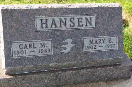 HANSEN, MARY E. - Yankton County, South Dakota | MARY E. HANSEN - South Dakota Gravestone Photos
