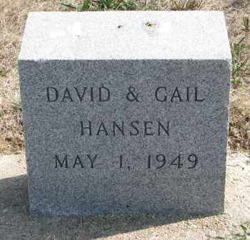 HANSEN, GAIL - Yankton County, South Dakota | GAIL HANSEN - South Dakota Gravestone Photos