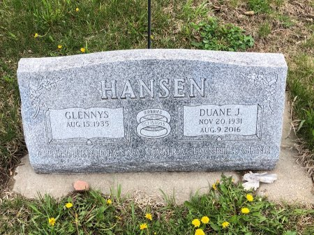 HANSEN, DUANE J. - Yankton County, South Dakota | DUANE J. HANSEN - South Dakota Gravestone Photos