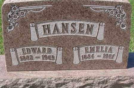 HANSEN, EMELIA - Yankton County, South Dakota | EMELIA HANSEN - South Dakota Gravestone Photos