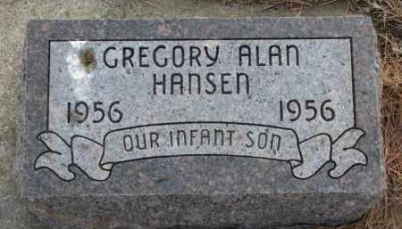 HANSEN, GREGORY ALAN - Yankton County, South Dakota | GREGORY ALAN HANSEN - South Dakota Gravestone Photos