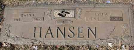 HANSEN, LYDIA J. - Yankton County, South Dakota   LYDIA J. HANSEN - South Dakota Gravestone Photos