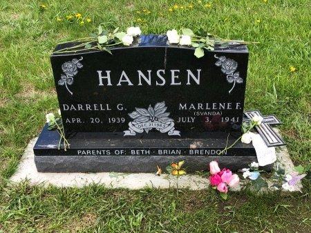 HANSEN, MARLENE F. - Yankton County, South Dakota   MARLENE F. HANSEN - South Dakota Gravestone Photos