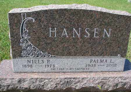 HANSEN, NIELS P. - Yankton County, South Dakota | NIELS P. HANSEN - South Dakota Gravestone Photos