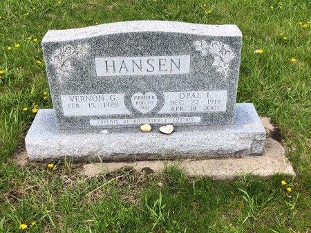 HANSEN, OPAL L - Yankton County, South Dakota | OPAL L HANSEN - South Dakota Gravestone Photos