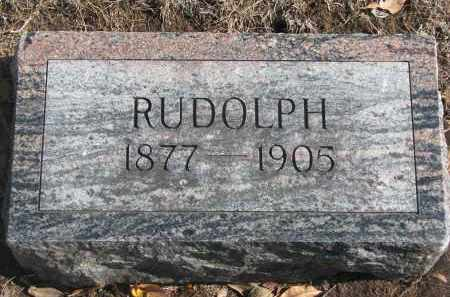 HANSEN, RUDOLPH - Yankton County, South Dakota | RUDOLPH HANSEN - South Dakota Gravestone Photos