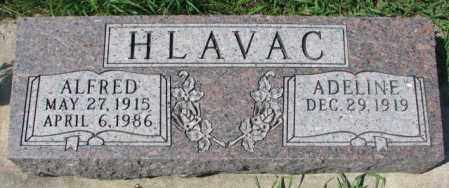 HLAVAC, ALFRED - Yankton County, South Dakota | ALFRED HLAVAC - South Dakota Gravestone Photos