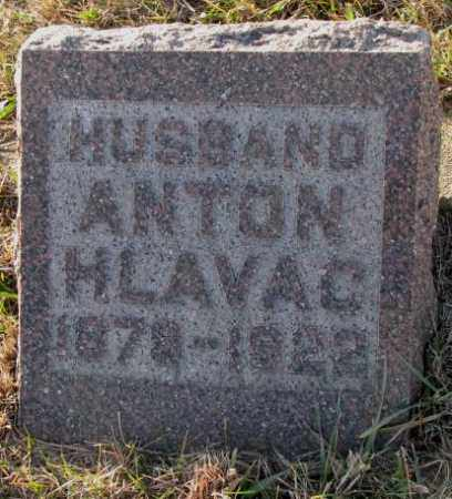 HLAVAC, ANTON - Yankton County, South Dakota   ANTON HLAVAC - South Dakota Gravestone Photos