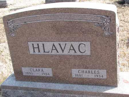 HLAVAC, CHARLES - Yankton County, South Dakota   CHARLES HLAVAC - South Dakota Gravestone Photos