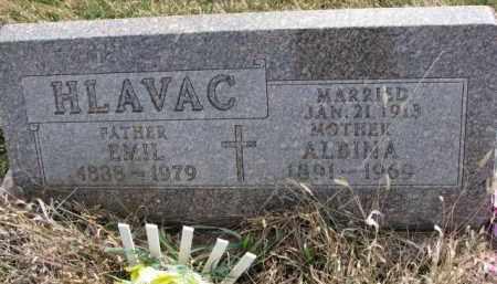 HLAVAC, ALBINA - Yankton County, South Dakota | ALBINA HLAVAC - South Dakota Gravestone Photos