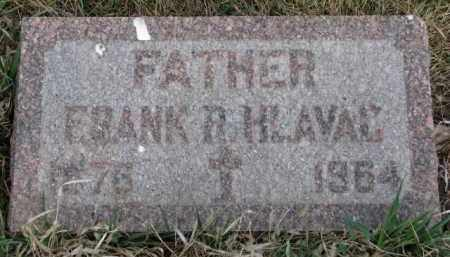 HLAVAC, FRANK R. - Yankton County, South Dakota   FRANK R. HLAVAC - South Dakota Gravestone Photos