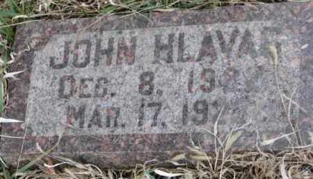 HLAVAC, JOHN - Yankton County, South Dakota   JOHN HLAVAC - South Dakota Gravestone Photos