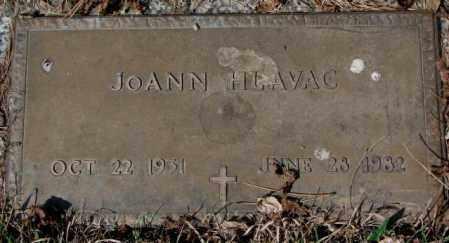 HLAVAC, JOANN - Yankton County, South Dakota | JOANN HLAVAC - South Dakota Gravestone Photos