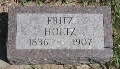 HOLTZ, FRITZ - Yankton County, South Dakota | FRITZ HOLTZ - South Dakota Gravestone Photos
