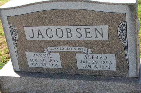 JACOBSEN, JENNIE - Yankton County, South Dakota | JENNIE JACOBSEN - South Dakota Gravestone Photos