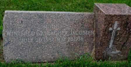 JACOBSEN, WINIFRED - Yankton County, South Dakota | WINIFRED JACOBSEN - South Dakota Gravestone Photos