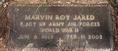 JARED, MARVIN ROY (WW II) - Yankton County, South Dakota   MARVIN ROY (WW II) JARED - South Dakota Gravestone Photos