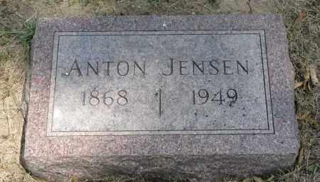 JENSEN, ANTON - Yankton County, South Dakota | ANTON JENSEN - South Dakota Gravestone Photos