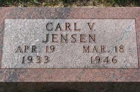 JENSEN, CARL V. - Yankton County, South Dakota | CARL V. JENSEN - South Dakota Gravestone Photos