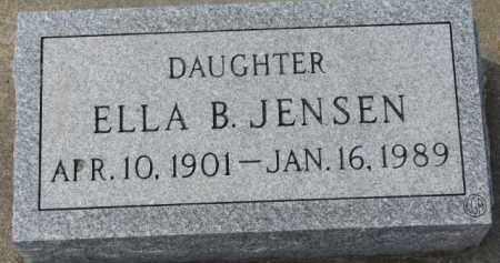 JENSEN, ELLA B. - Yankton County, South Dakota | ELLA B. JENSEN - South Dakota Gravestone Photos