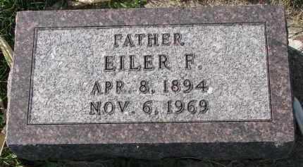 JENSEN, EILER F. - Yankton County, South Dakota | EILER F. JENSEN - South Dakota Gravestone Photos