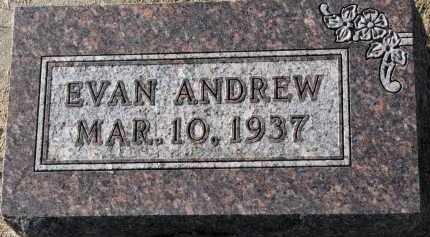 JENSEN, EVAN ANDREW - Yankton County, South Dakota   EVAN ANDREW JENSEN - South Dakota Gravestone Photos