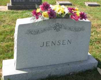 JENSEN, FAMILY STONE - Yankton County, South Dakota | FAMILY STONE JENSEN - South Dakota Gravestone Photos