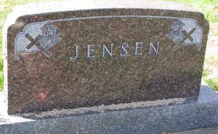 JENSEN, FAMILY STONE - Yankton County, South Dakota | FAMILY STONE JENSEN - South Dakota Gravestone Photos
