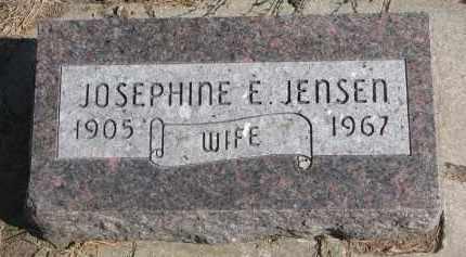 JENSEN, JOSEPHINE E. - Yankton County, South Dakota   JOSEPHINE E. JENSEN - South Dakota Gravestone Photos