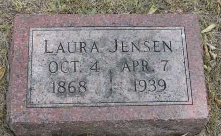 JENSEN, LAURA - Yankton County, South Dakota   LAURA JENSEN - South Dakota Gravestone Photos