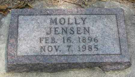 JENSEN, MOLLY - Yankton County, South Dakota | MOLLY JENSEN - South Dakota Gravestone Photos