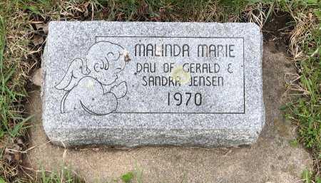 JENSEN, MALINDA MARIE - Yankton County, South Dakota | MALINDA MARIE JENSEN - South Dakota Gravestone Photos