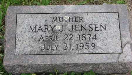 JENSEN, MARY J. - Yankton County, South Dakota | MARY J. JENSEN - South Dakota Gravestone Photos