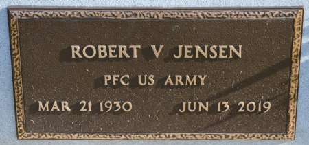 JENSEN, ROBERT V. (MILITARY) - Yankton County, South Dakota | ROBERT V. (MILITARY) JENSEN - South Dakota Gravestone Photos