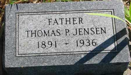 JENSEN, THOMAS P. - Yankton County, South Dakota | THOMAS P. JENSEN - South Dakota Gravestone Photos