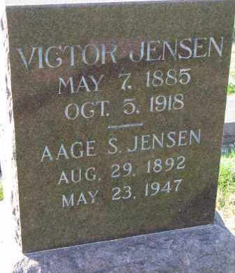 JENSEN, VICTOR - Yankton County, South Dakota | VICTOR JENSEN - South Dakota Gravestone Photos