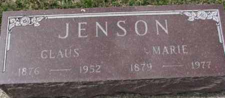 JENSON, MARIE - Yankton County, South Dakota | MARIE JENSON - South Dakota Gravestone Photos