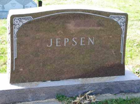 JEPSEN, FAMILY STONE - Yankton County, South Dakota | FAMILY STONE JEPSEN - South Dakota Gravestone Photos