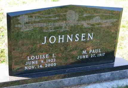 JOHNSEN, LOUISE I. - Yankton County, South Dakota | LOUISE I. JOHNSEN - South Dakota Gravestone Photos