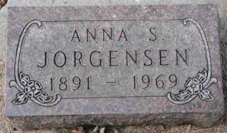 JORGENSEN, ANNA S. - Yankton County, South Dakota | ANNA S. JORGENSEN - South Dakota Gravestone Photos