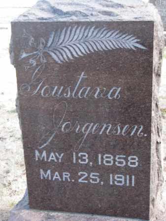 JORGENSEN, GOUSTAVA - Yankton County, South Dakota | GOUSTAVA JORGENSEN - South Dakota Gravestone Photos