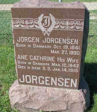 JORGENSEN, JORGEN - Yankton County, South Dakota | JORGEN JORGENSEN - South Dakota Gravestone Photos