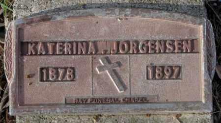 JORGENSEN, KATERINA - Yankton County, South Dakota   KATERINA JORGENSEN - South Dakota Gravestone Photos