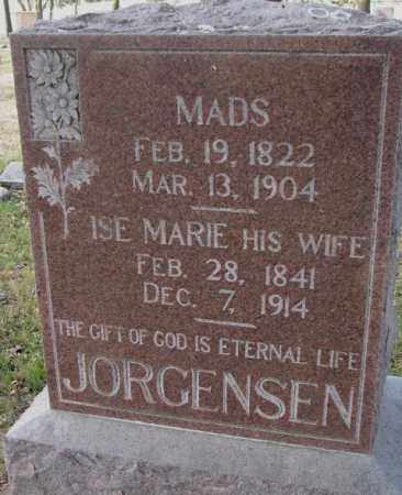 JORGENSEN, ISE MARIE - Yankton County, South Dakota | ISE MARIE JORGENSEN - South Dakota Gravestone Photos