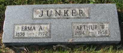 JUNKER, ARTHUR W. - Yankton County, South Dakota | ARTHUR W. JUNKER - South Dakota Gravestone Photos