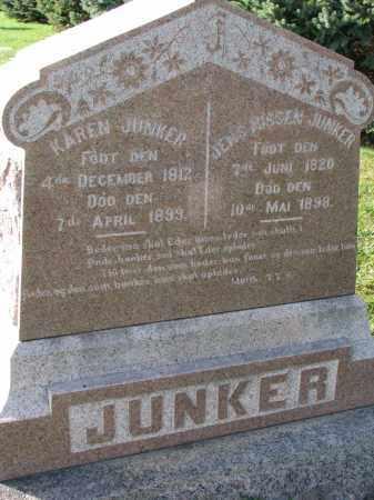 JUNKER, KAREN - Yankton County, South Dakota | KAREN JUNKER - South Dakota Gravestone Photos