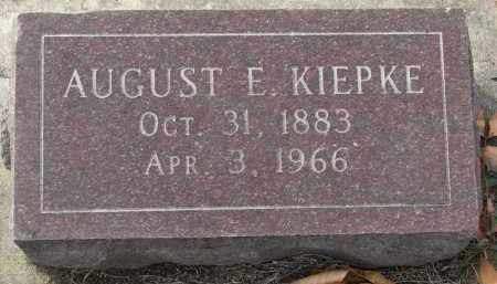 KIEPKE, AUGUST E. - Yankton County, South Dakota | AUGUST E. KIEPKE - South Dakota Gravestone Photos