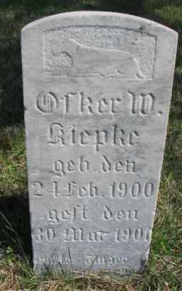KIEPKE, OTKER M. - Yankton County, South Dakota   OTKER M. KIEPKE - South Dakota Gravestone Photos